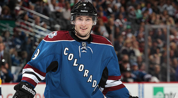 EARNING THE DOUGH - Duchene got himself a five-year contract over the offseason, and he's earning it so far in 2013-14.