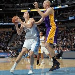 Mozgov's 23 Points Sparks Nuggs in 111-99 Win Over Lakers