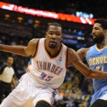 Kevin Durant Explodes for 38, as Thunder down Nuggets in 4th, 115-113.