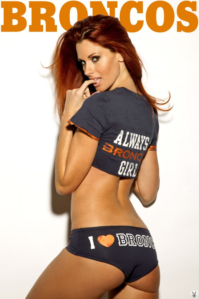 hot broncos girl, just cause you always have to have a hot chick