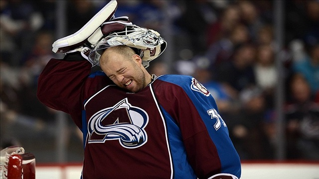 Giguere's struggles